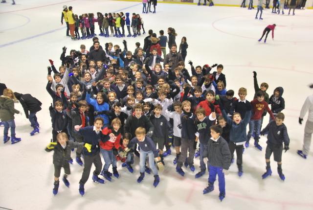 Patinaje sobre hielo viernes 12-ene