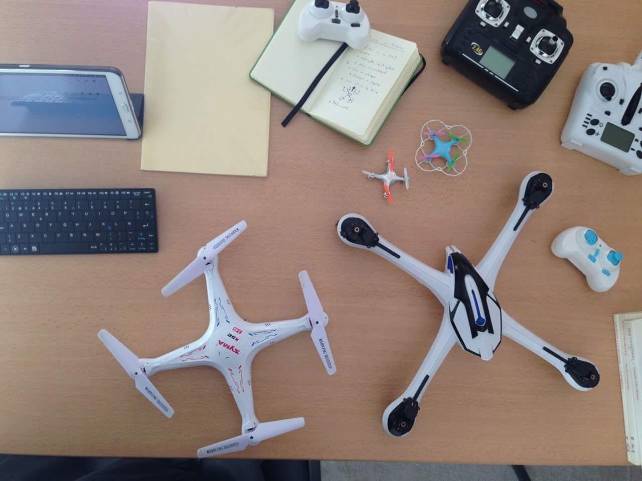Actividad de drones
